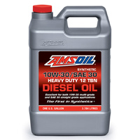10W30 / SAE 30 Synthetic Heavy-Duty Diesel Oil 1 Gallon (3.78L)