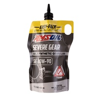 AMSOIL SAE 80W-90 Synthetic Gear Lube **NEW EASY-PACK AVAILABLE NOW**