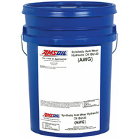 AMSOIL Synthetic Anti-Wear Hydraulic Oil - ISO 22 1x 5 GALLON PAIL (18.9L)