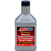 AMSOIL 75W-90 GL4 Manual Transmission & Transaxle Gear Lube